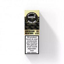 SANSIE BLACK LABEL-AMERICAN MENTHOL
