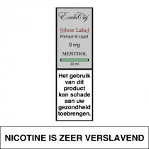Exclucig Silver Label-Menthol 10Ml