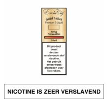 Exclucig Gold Label-Apple Cinnamon 10Ml